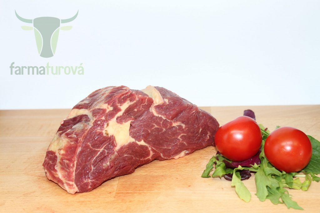 hovädzie mäso cena